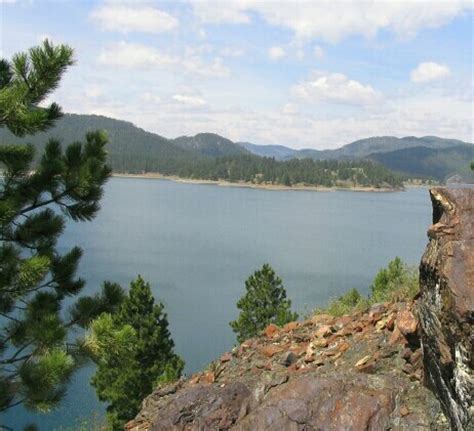 Pactola Lake Cabins by Black National Forest Bill And Debra S Travels