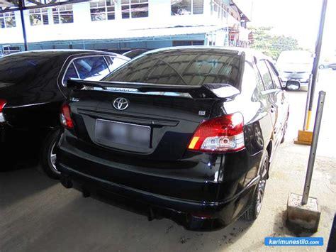 Lu Depan Mobil Vios 2008 tertarik beli mobil bekas blue bird taxi perhatikan hal ini