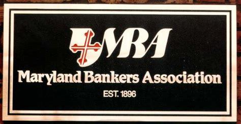 international bankers association bronze identification plaque maryland bankers