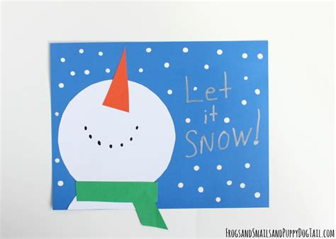 snow craft for snowman craft for fspdt
