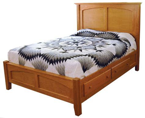 bed shaker shaker panel bed ohio hardwood furniture