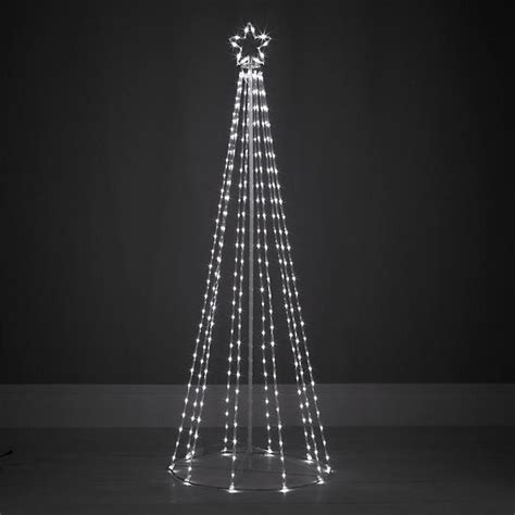 modern lighted tree contemporary maypole design outdoor tree
