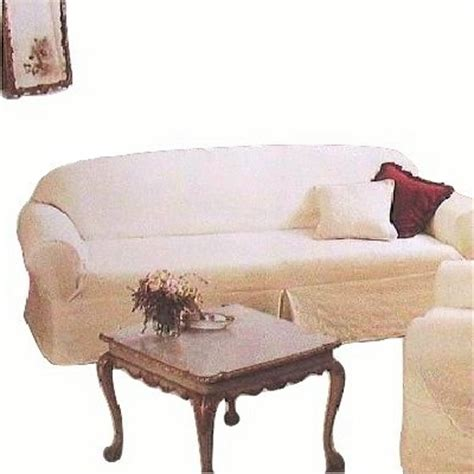 ashwell shabby chic slipcovers ashwell slipcover quilted white cotton sofa or