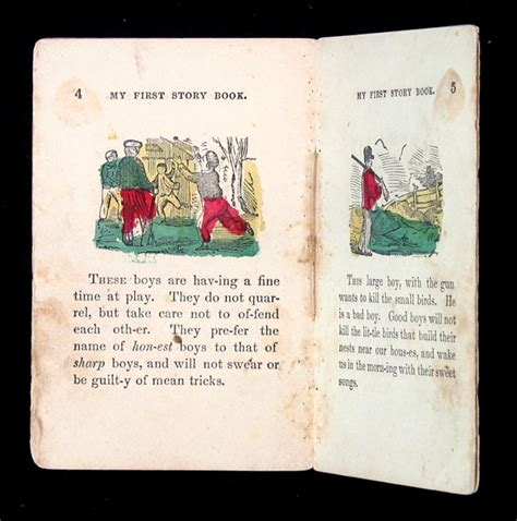 story book with pictures my story book a 19th c juveniles book