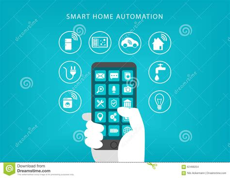 smart refrigerator concept stock image cartoondealer