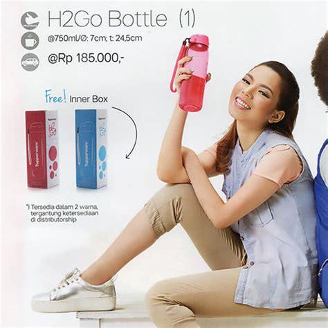 Botol H2go Biru Tupperware tupperware h2go bottle daftar harga terlengkap indonesia