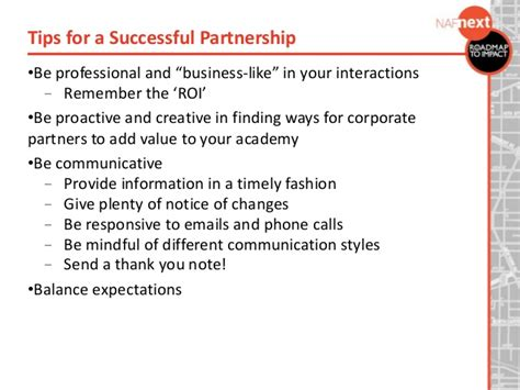 Thank You Letter Kpmg Business Partner Engagement Relationship Building Best Practices