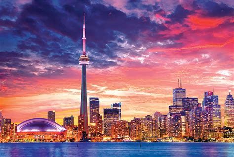 Signs For Home Decor by Toronto Skyline Athena Posters