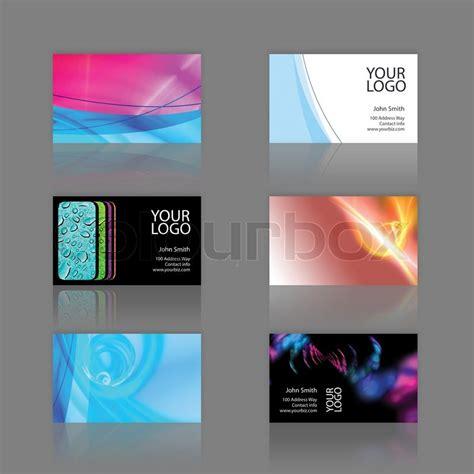 Design Vorlagen Visitenkarten Sortiment 6 Moderne Visitenkarte Designs Vorlagen Druckfertige Und Vollst 228 Ndig Anpassbar