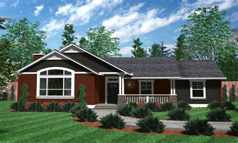 Level House by House Plans One Level Homes Simple One Story House Plans