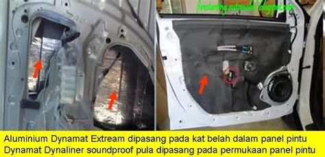 Cermin Tepi Kereta Myvi starting automobil diy pemasangan carpet merah