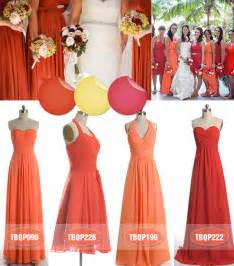 bridesmaid dresses fall 2013 amazing color inspiration