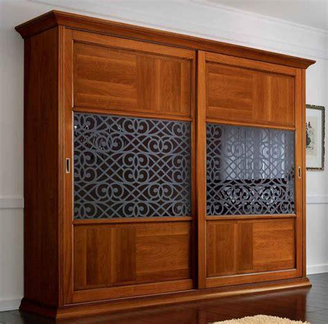 Kleiderschrank Birke Furnier by Luxus Kleiderschrank Schiebet 252 Re Deko Glas Furnier