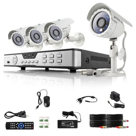 zmodo zmd kdb4 narbz4zp 4ch d1 dvr home security