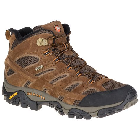 mens mid hiking boots merrell s moab 2 mid waterproof hiking boots earth