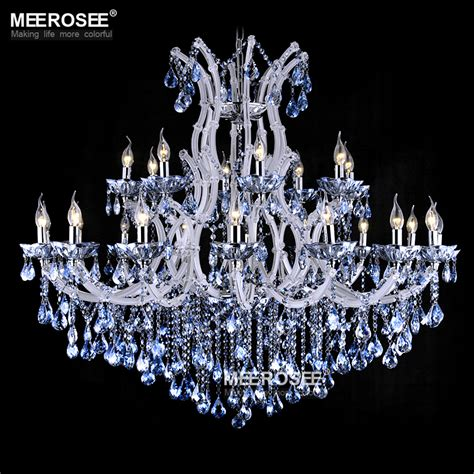 Blue And White Chandelier Aliexpress Buy Blue Color Theresa Chandelier L Light Lighting Fixture