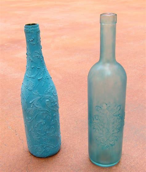 Sea Glass Bottles Ideas Diy Faux Sea Glass Bottles Morena S Corner