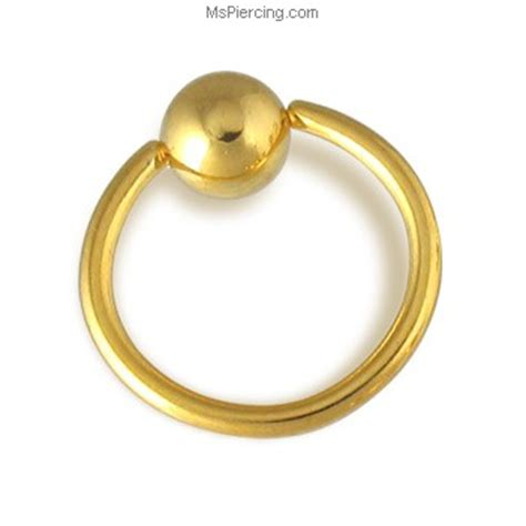 how to change a captive bead ring 14k gold plated captive bead ring 14 ga at mspiercing