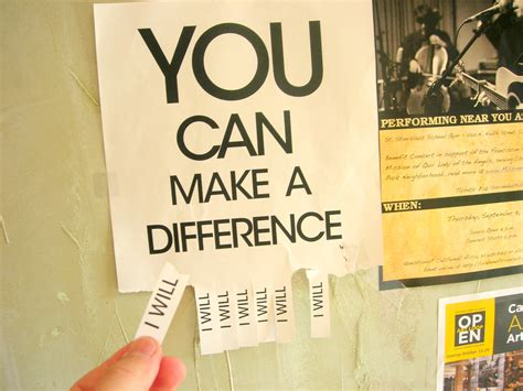 you can make you can make a difference quotes like success