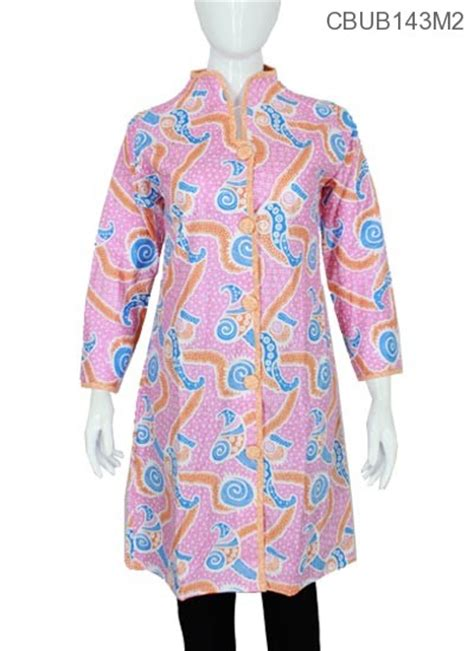 Tunik Batik Motif tunik warna motif pisang blus panjang murah batikunik
