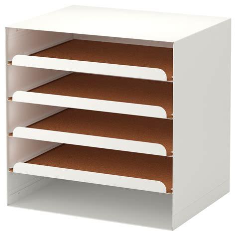 Paper Organizer A4 3 Susun Black Magic Storage Diy Document Tray 1 kvissle letter tray white ikea