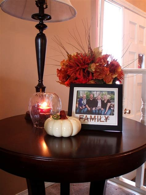 how to decorate a side table in a living room 43 fall coffee table d 233 cor ideas digsdigs