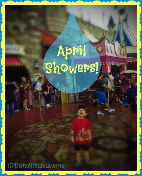 April Showers Disney by Disney Mamas Wordless Wednesday April Calendar Disney