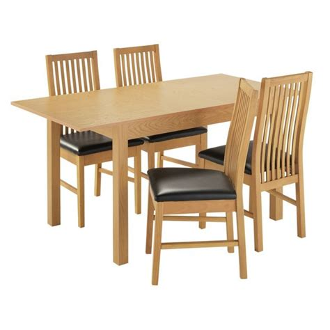 buy home addingham extendable table and 4 chairs