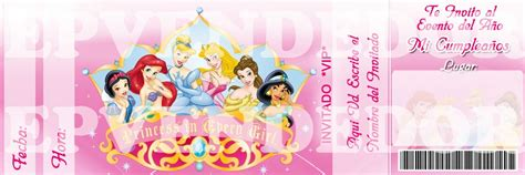 invitaci n de bautizo de princesa para imprimir invitacion princesas disney pictures to pin on pinterest