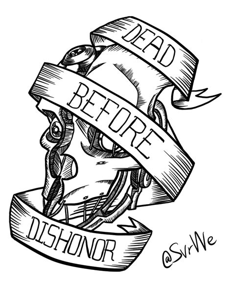 dishonored tattoo dishonored by sebastengentopero on deviantart