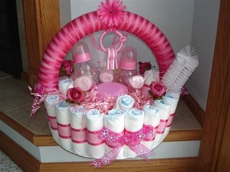 Gift Basket Decoration by Baby Shower Gift Basket Decorating Ideas 12039