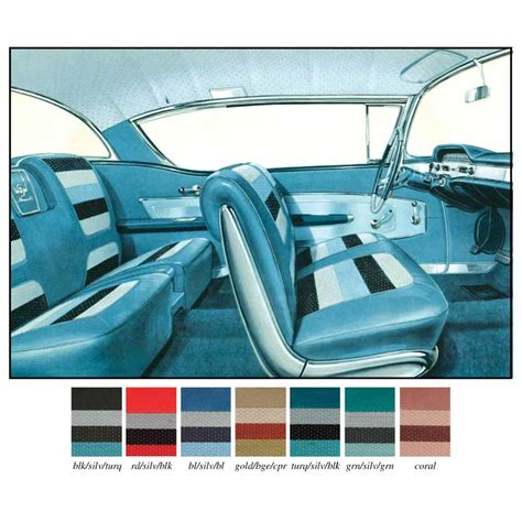 upholstery kits for cars 1958 chevrolet impala parts interior soft goods seat