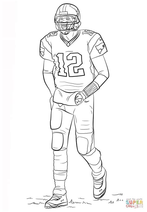 Tom Brady Coloring Page Free Printable Coloring Pages Tom Brady Coloring