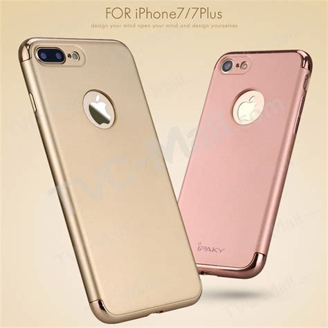 Gea Ipaky Apple Iphone 7 4 7 Gold ipaky 3 in 1 electroplating pc back cover for iphone