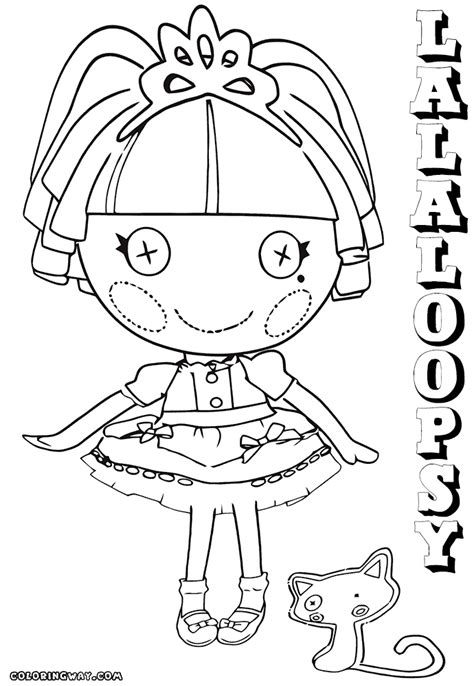 coloring page lalaloopsy dolls lalaloopsy doll coloring pages coloring pages to