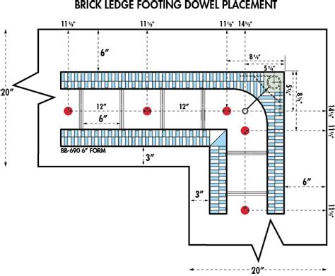 Insulated Concrete Forms House Plans white paper footing to wall connections