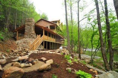 Cabins On Pigeon River by Calendar
