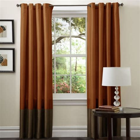 brown orange curtains 25 best ideas about brown curtains on pinterest brown