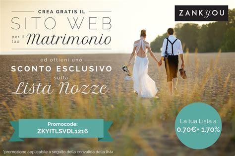 Il Tuo Sito Gratis by 187 Crea Gratis Il Tuo Sito Per Il Tuo Matrimonio