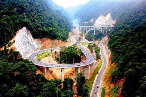 wow indonesia  punya jembatan layang  pesona