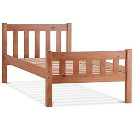 Single Bed Wood Frame Wooden Single Bed Ebay