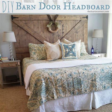 corner headboard diy the kurtz corner diy barn door headboard furniture that is fantastic barn door