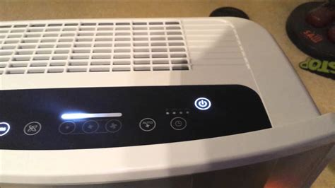 delonghi ac compact air purifier overview youtube