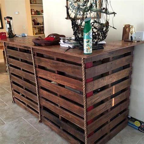 diy pallet bar bar made from pallets pallet furniture diy