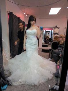 video crossdresser being fitted wedding gown beautiful bridal crossdresser alicia is being fitted for