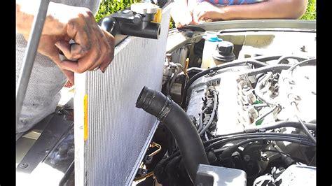 hyundai radiator swap demonstrated   hyundai sonata   youtube