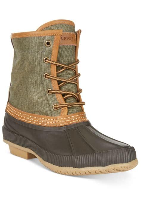 macy s duck boots hilfiger hilfiger s collins waterproof