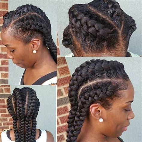 easy hairstyles not braids 31 goddess braids hairstyles for black women goddess