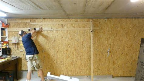 osb wand eine cleat werkzeugwand selbst bauen holzhandwerk