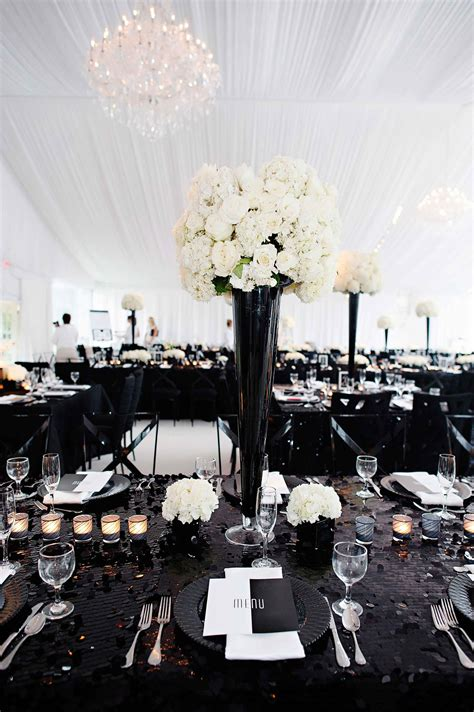 black and white wedding ideas pros and cons inside weddings